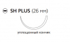 Викрил Плюс (Vicryl Plus) 4/0, длина 70см, кол. игла 26мм VCP315H