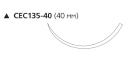 Этилон (Ethilon) 2/0, длина 45см, реж. игла 40мм W786