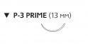 Монокрил (Monocryl) 6/0, длина 45см, обр-реж. игла 13мм Prime W3215